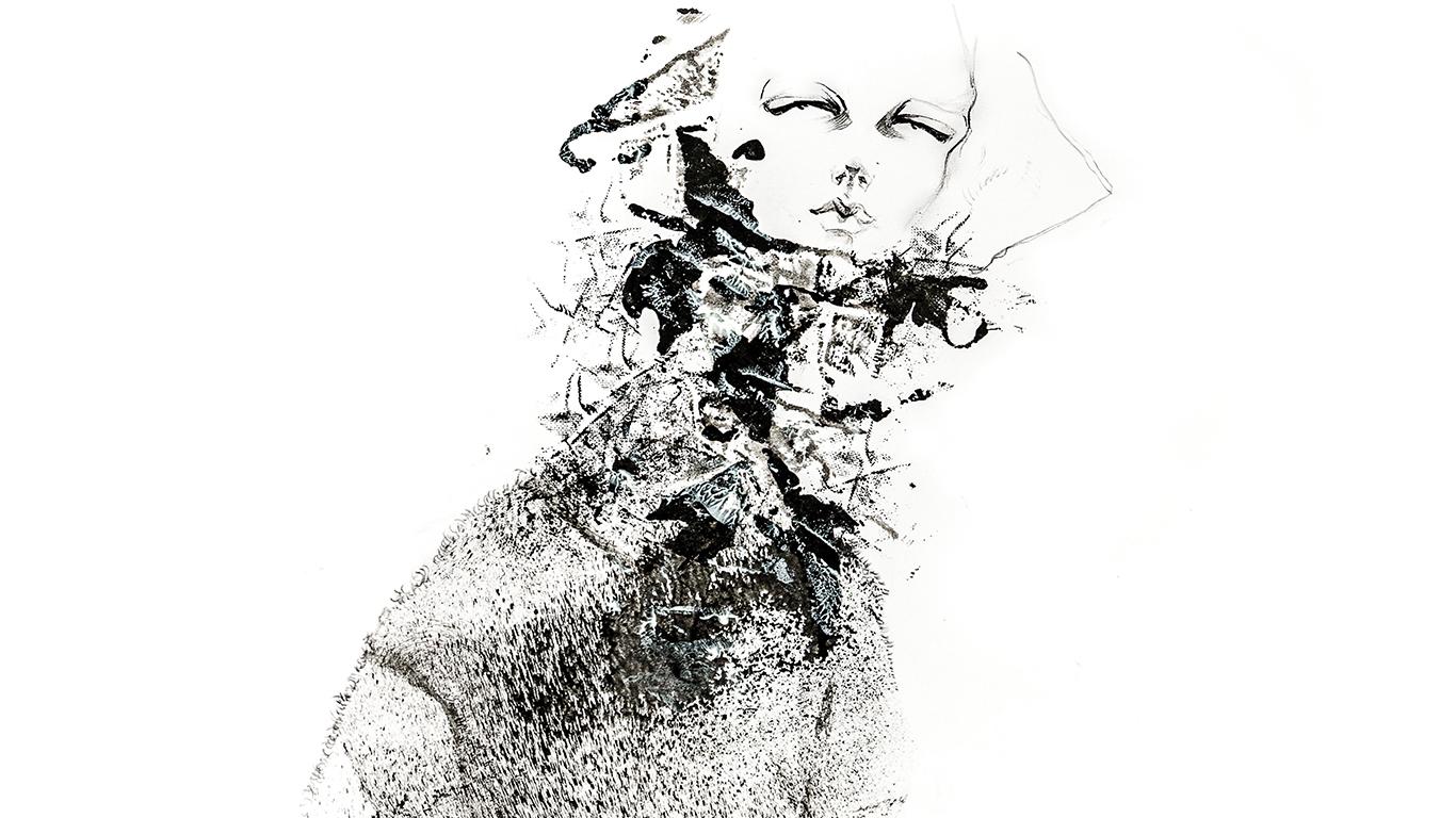 Modeillustration für Annette Görtz von Okan Zafrak