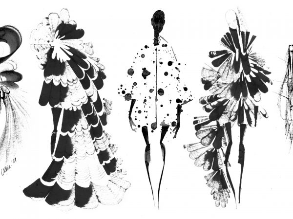 <span>fashion silhouettes</span><i>→</i>